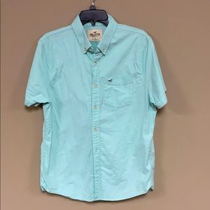 MENS HOLLISTER BUTTON UP